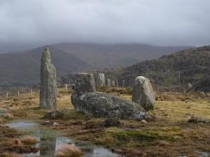 Cashelkeelty Stone Circle - Beara Peninsula - Ireland