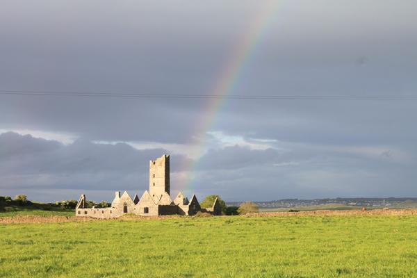 Moyne Abbey, County Mayo Ireland