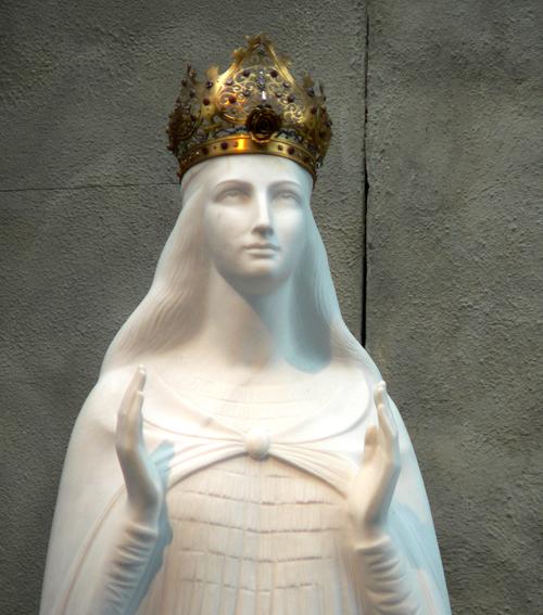 Virgin Mary Statue at Knock Shrine Ireland