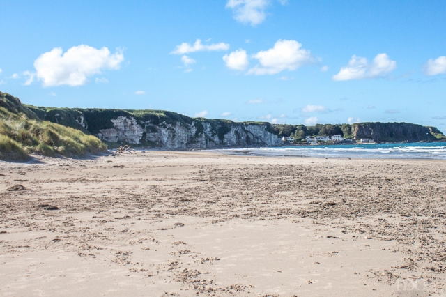 White Park Bay on Antrim Coast