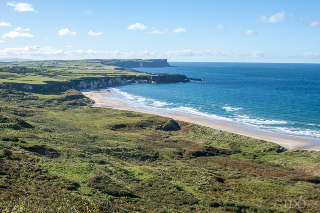 White Park Bay looking toward Causeway
