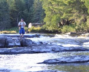 Dan Burgoyne - fly fisherman