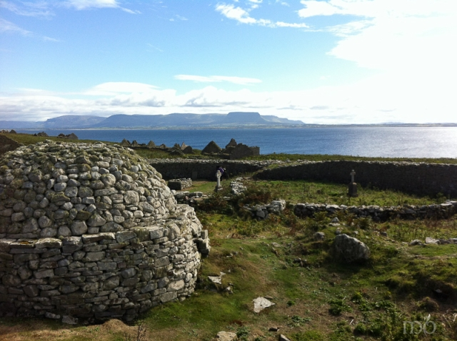 Island of Inishmurray of the Coast of County Sligo