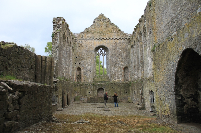 Athassel Priory - Nave of the Church