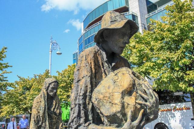 Famine Memorial Dublin Ireland