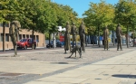 Famine Memorial Dublin Ireland