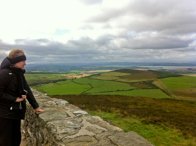 Grianan of Aileach views